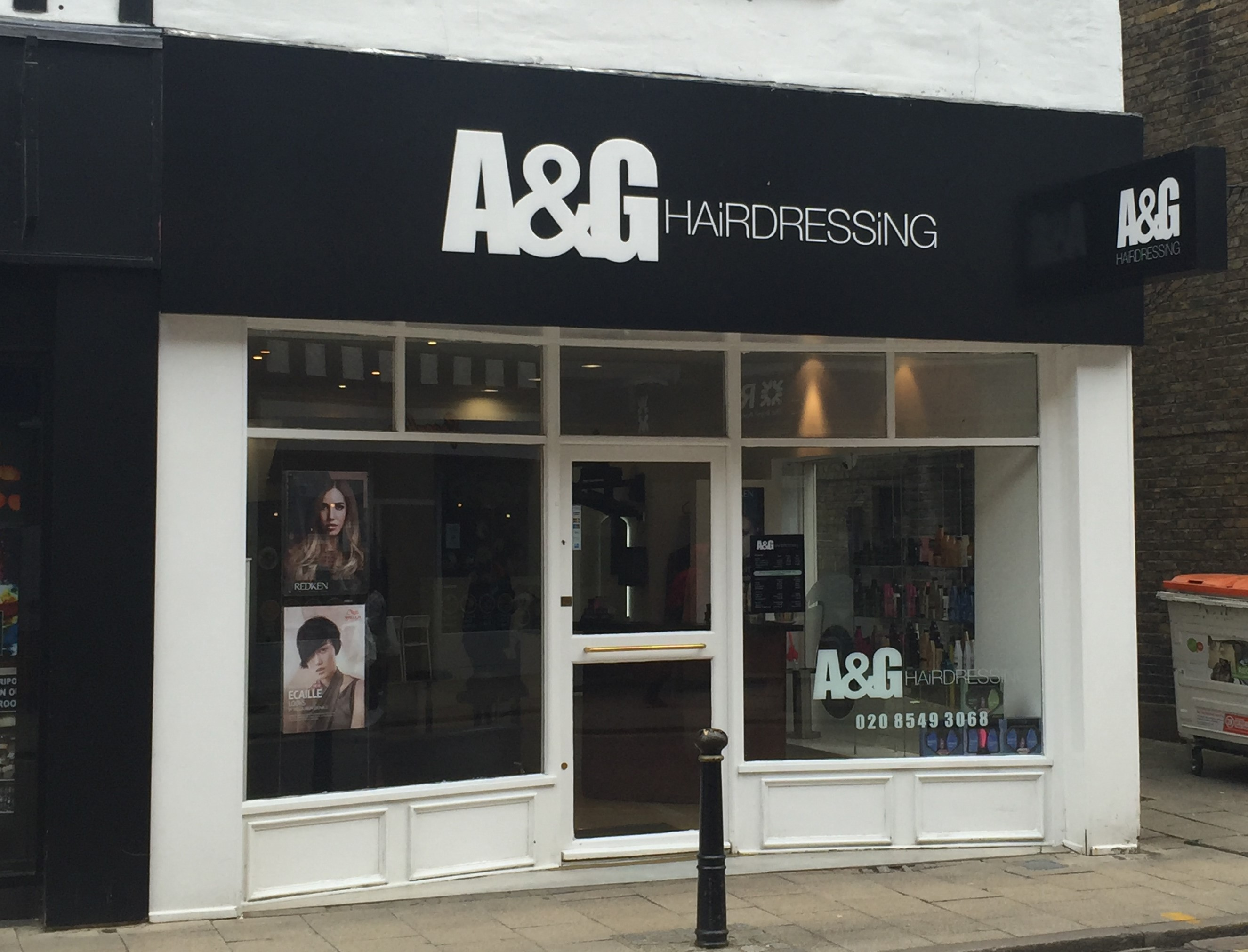 hair salon offers A&G Hairdressing