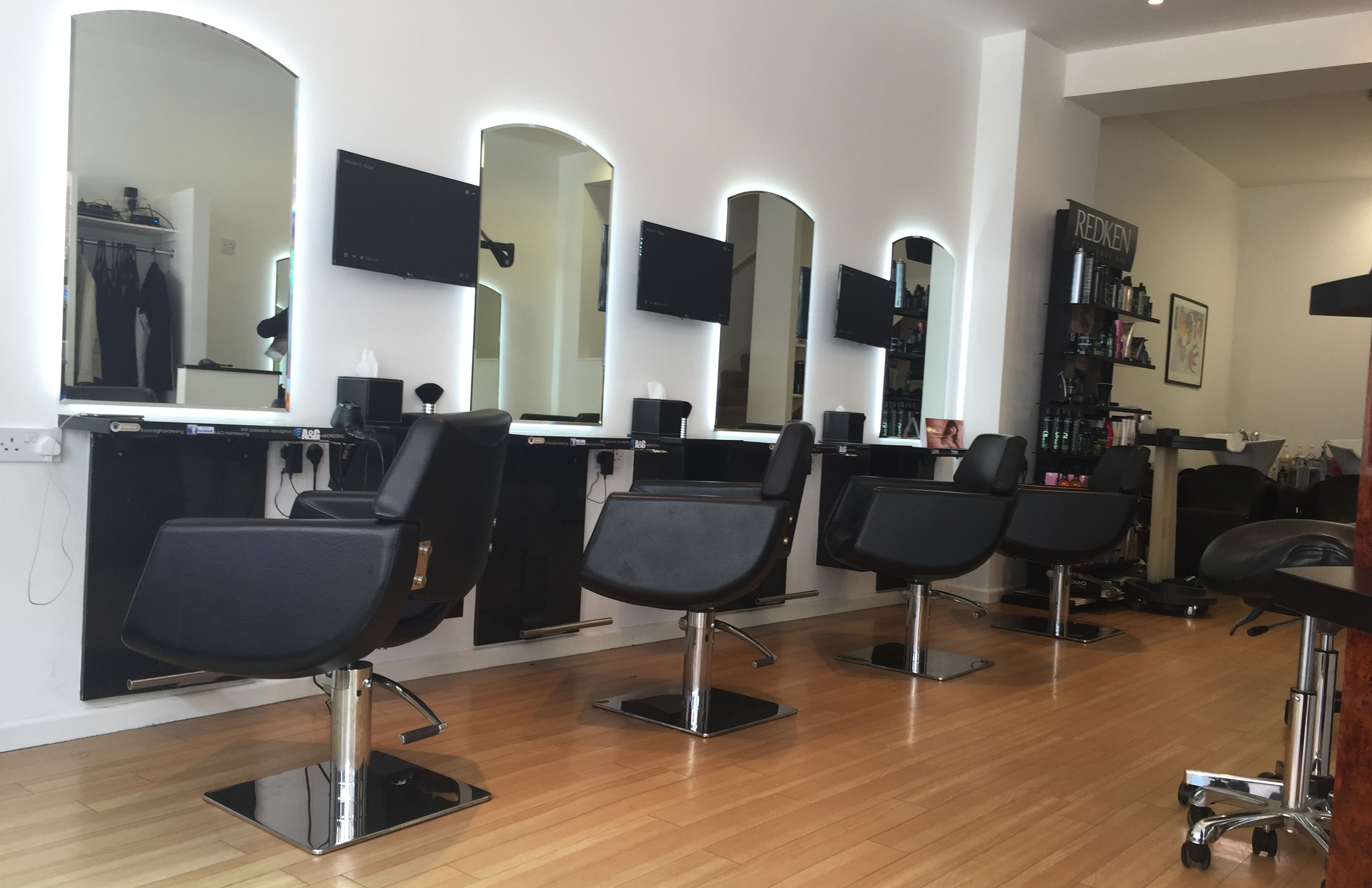 hairdresser offers A&G Hairdressing