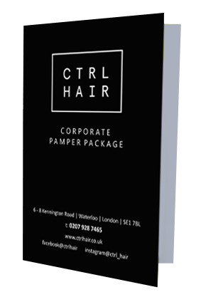 hairdresser offers Ctrl Hair - SOLD OUT