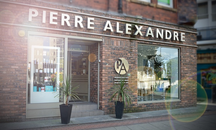 hair salon offers Pierre Alexandre Aesthetics