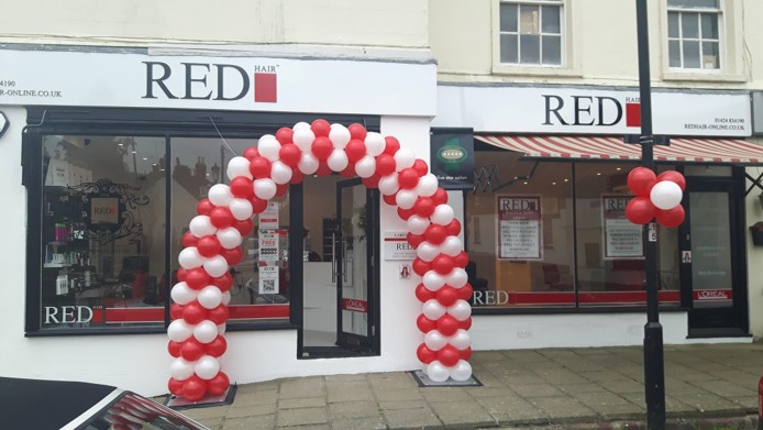 hair salon offers Red Hair