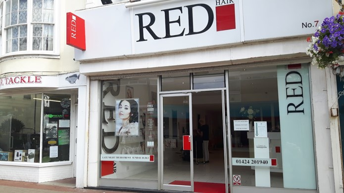 hair salon offers Red Hair