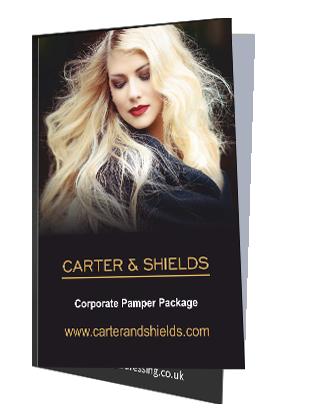 hairdresser offers Carter & Shields
