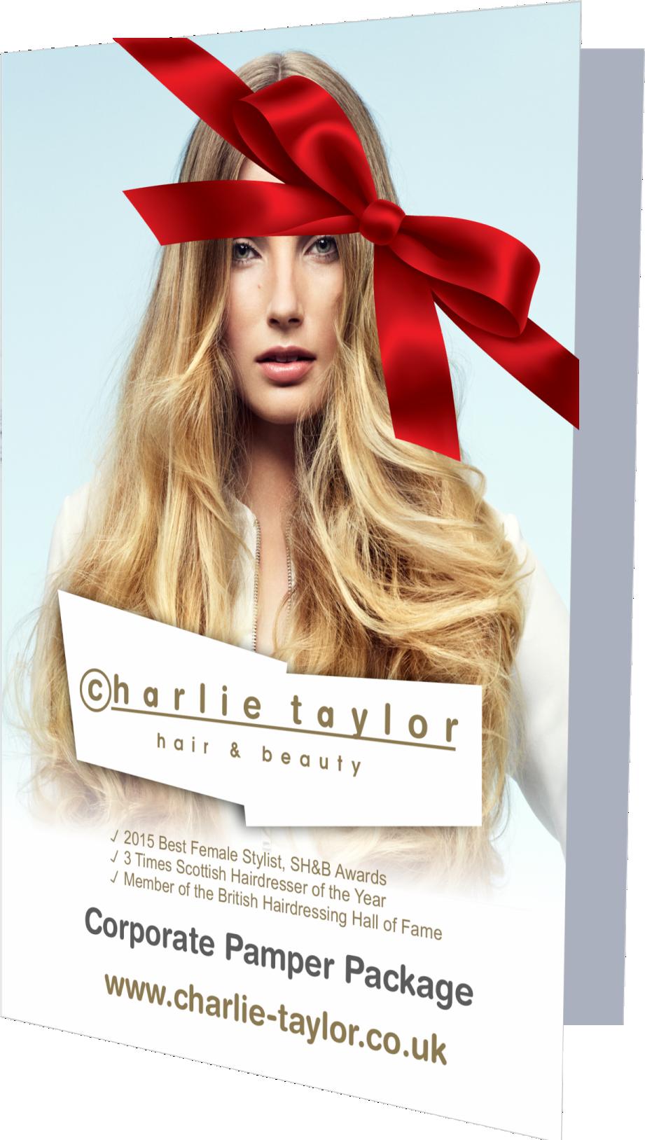 hairdresser offers Charlie Taylor