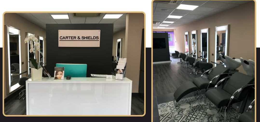 hair salon offers Carter & Shields