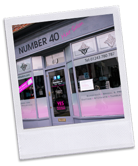 hair salon offers Number 40