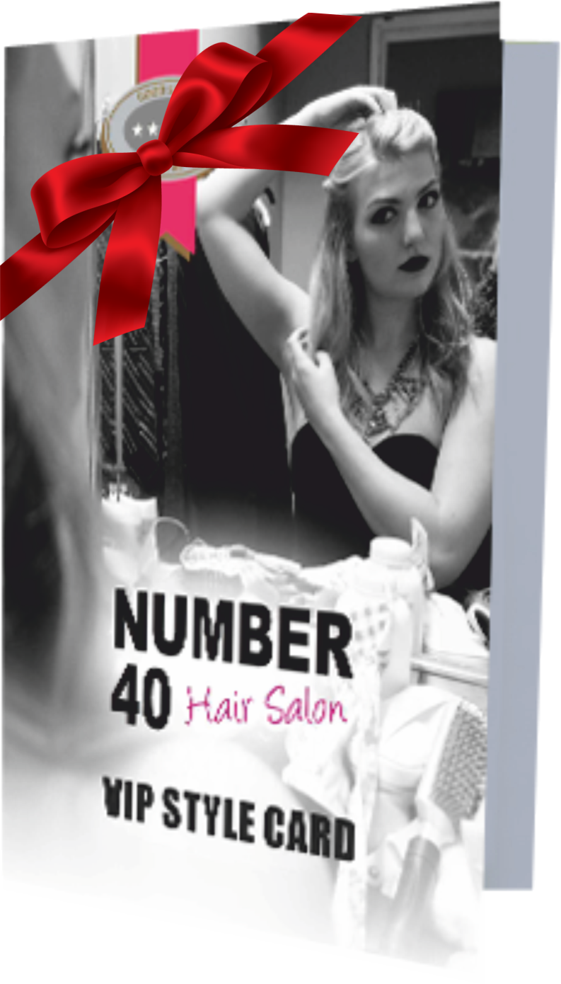 hairdresser offers Number 40